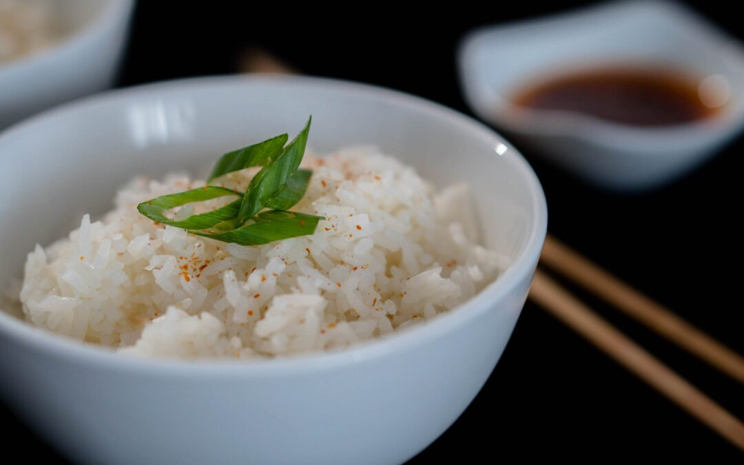 Perfectly Steamed Jasmine Rice