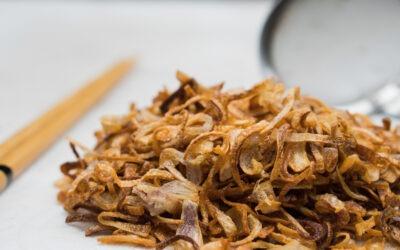 Addictive Crispy Fried Shallots