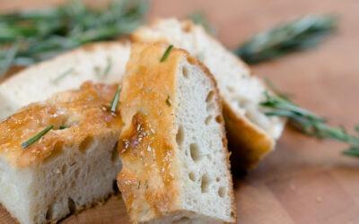 Traditional Focaccia Bread